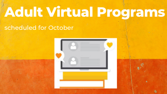 October Virtual Adult Programming Schedule