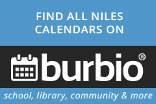 Find all Niles calendars on burbio school, library, community and more