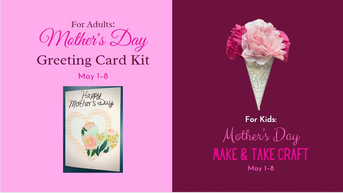 Mother's Day Make & Take Crafts
